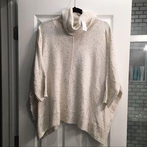 Loft sweater poncho